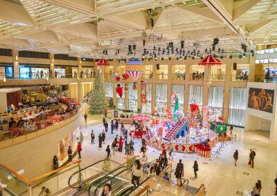 Hong,Kong,-,Circa,November,,2016:,Christmas,Decorations,At,The