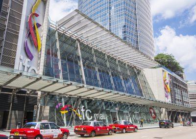 Central,,Hong,Kong,China,-,June,11,,2017:,Entrance,Of